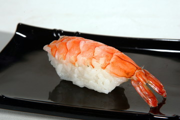 Sushi with shrimp