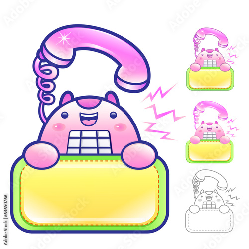 Flexibility as possible a sets of Phone Mascot. Appliances Items