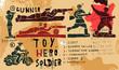 Постер, плакат: Солдаты