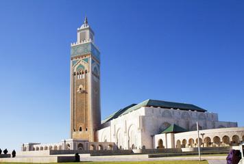 Morocco. Casablanca. Hassan II mosque