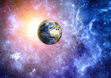 deep space background Elements of this image furnished by NASA