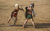 Gladiators fight