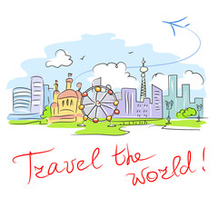 card travel the world
