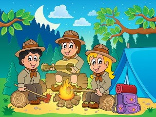 Children scouts theme image 4