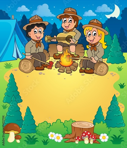 Children scouts theme image 3