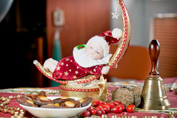 Christmas Doll with bell