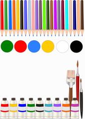 set di colori