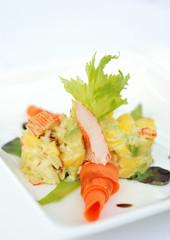 salad crabmeat