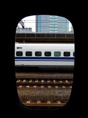 Shinkansen, Fukuyama, Japan