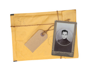 Old envelope and photo
