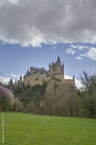 The Alcazar of Segovia