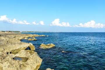 Beach of Punta Prosciutto, Apulia (Italy)