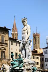 Statue of Neptune, Piazza della Signoria, Florence (Italy)