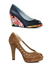 Sapato Senhora Aberto