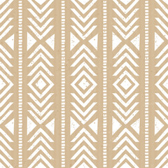 Seamless Cardboard Paper Tribal Background