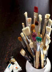 Used Artist Brushes