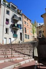 Rue de l'Echelle à Aubagne