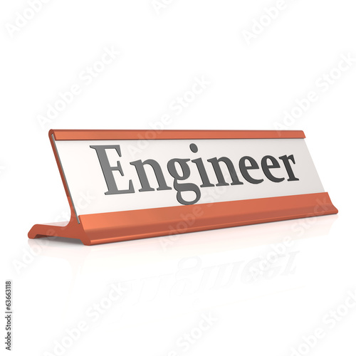 Engineer table tag