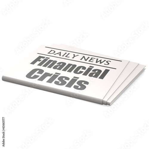 Newspaper financial crisis