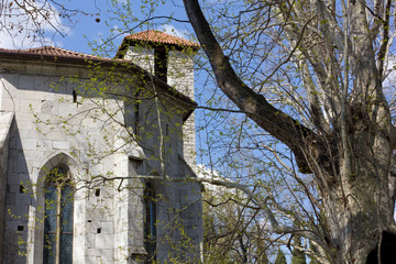 Church of San Giovanni in Tuba and Park in Duino, Italy
