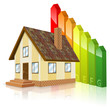 Home with Energy Efficiency Rating