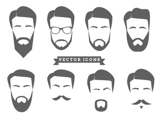 Vector Face Icons