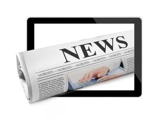 Zeitung mit News