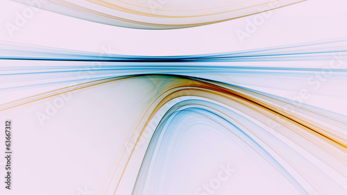 Abstract Colorful Linear Horizon, seamless loop