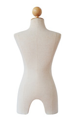 mannequin isolated, clipping path