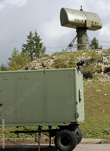 radar to search for enemy vehicles