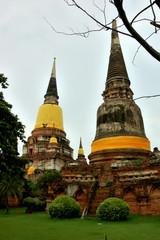 Thailand -  Ayutthaya historical park