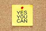 Yes You Can Sticky Note
