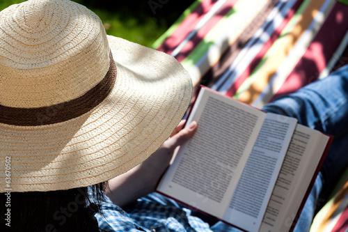 Fotobehang Picknick Summer novel