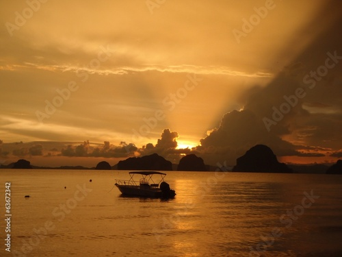 Sunset @ Krabi, Thailand