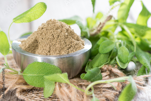 Bowl with Sage Powder