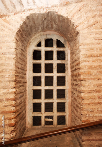 old Window in the corridor