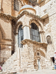 Israel. Church of the Holy Sepulchre  in old city of Jerusalem