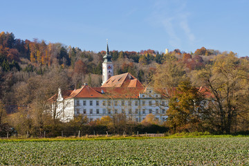 Kloster Schäftlarn, Bayern, Deutschland, Schaeftlarn Abbey, Bav