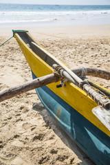 Traditional Sri Lankan fishing boat