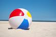beach ball against sea landscape - 63679123