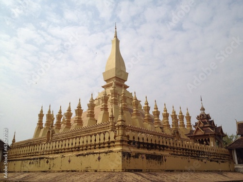 the most famous building in Laos