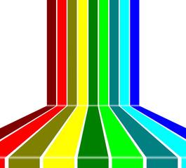 Regenbogen Streifen  #140410-svg02