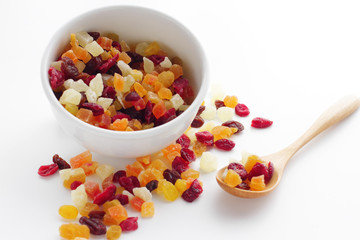 tasty sweet mix dried fruits