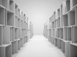 Lager Kisten Abstrakt