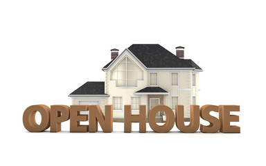 Open House - Real Estate Sales