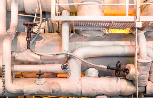 Industrial zone detail - Pipelines and energy equipment