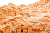 Ruins of Little Petra in Siq al-Barid, Wadi Musa, Jordan poster