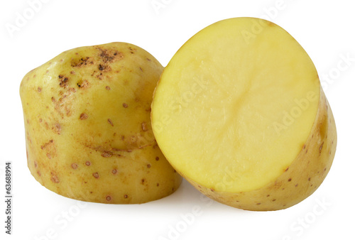 Potatoe isolated on white background