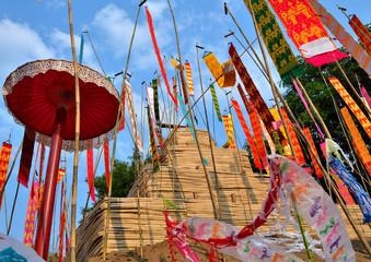 flag for songkran festival