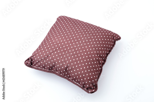 Pillow isolated white background